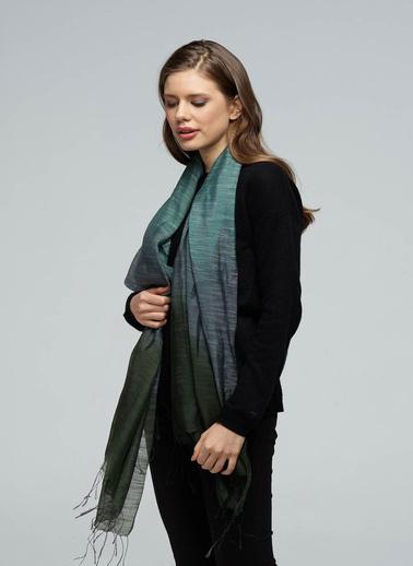 Silk and Cashmere Fular Haki